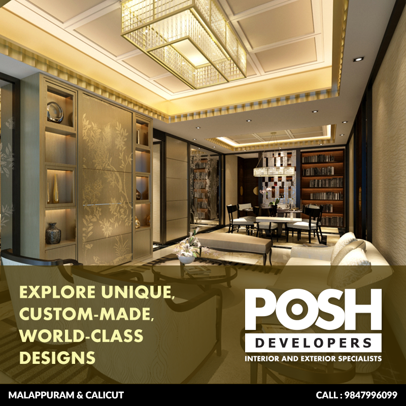 POSH Developers – Interior design malappuram