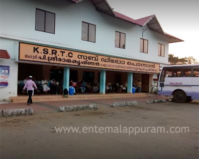 KSRTC Bus Depot Ponnani Contact Number