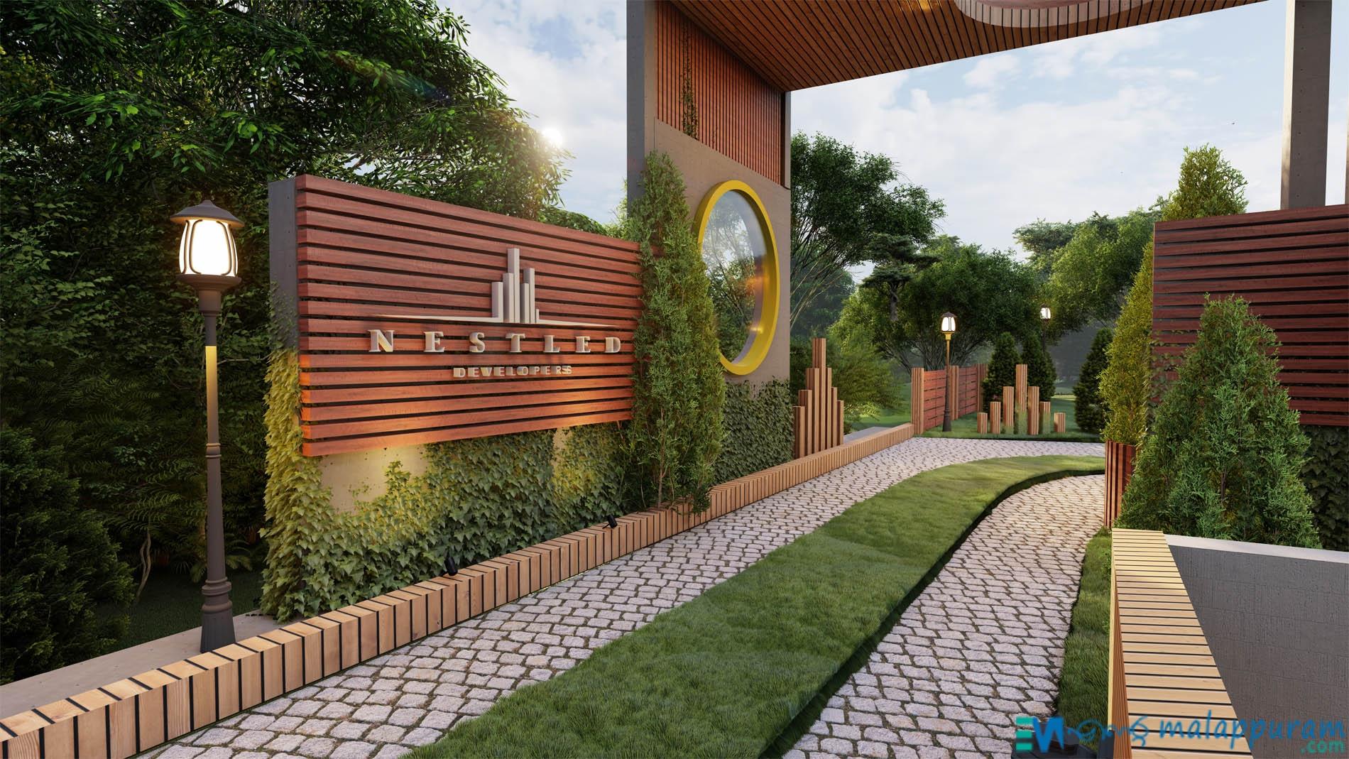 Green Village 2BHK, 3BHK Luxury Villas in Kalikav Malappuram – by Neslted Developers